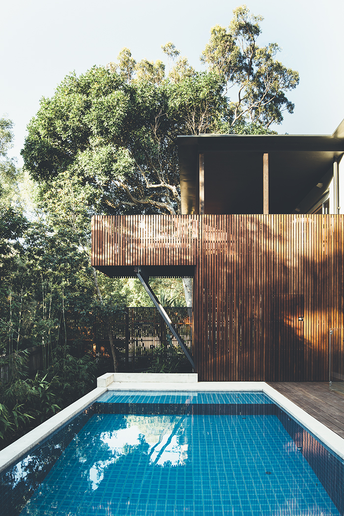 Teeland Architects Sunday House pool area