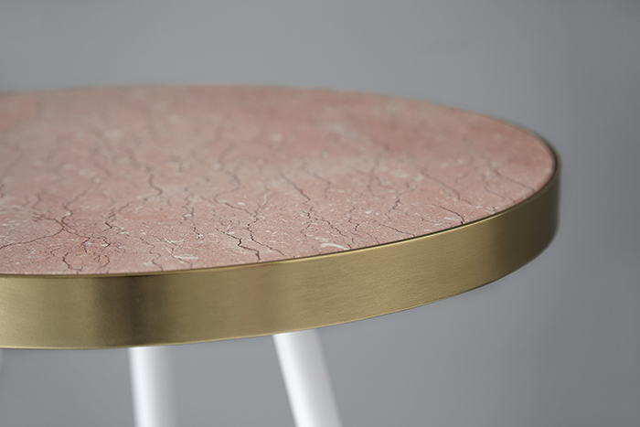 Living Edge_Bethan Gray_Band Single-Tone Side Table close up