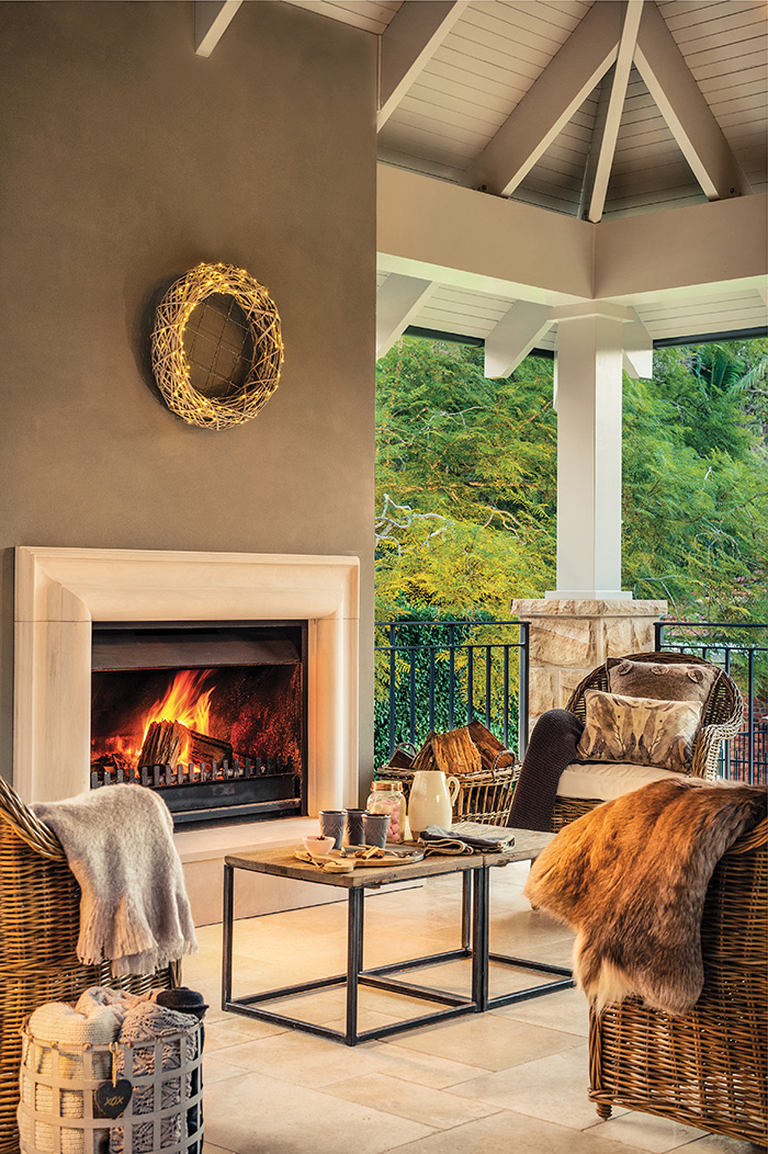 Jetmaster outdoor fireplace