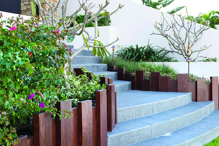 Tecscape stair feature