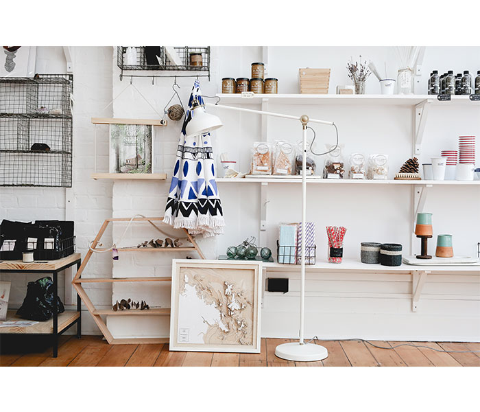Brisbane shopping: showroom interior design, shop local