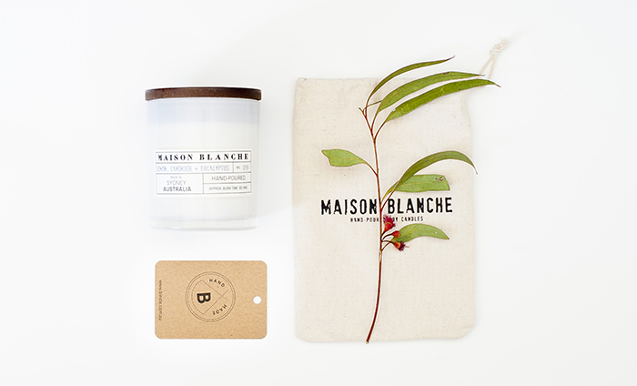 Maison Blanche scented candle Bindle