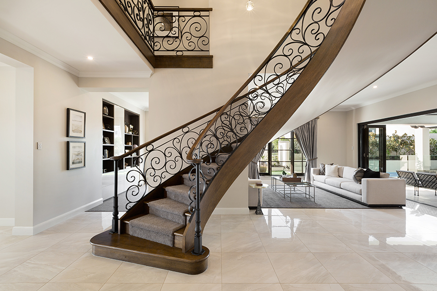 Metricon Bordeaux staircase