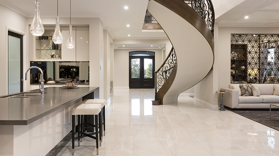 Metricon Bordeaux kitchen entry