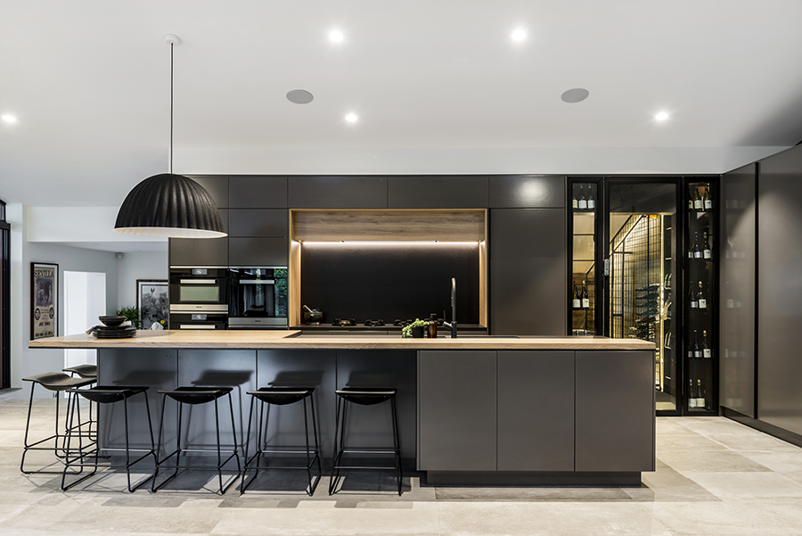 Darren James Interiors kitchen dining Queensland Homes 5