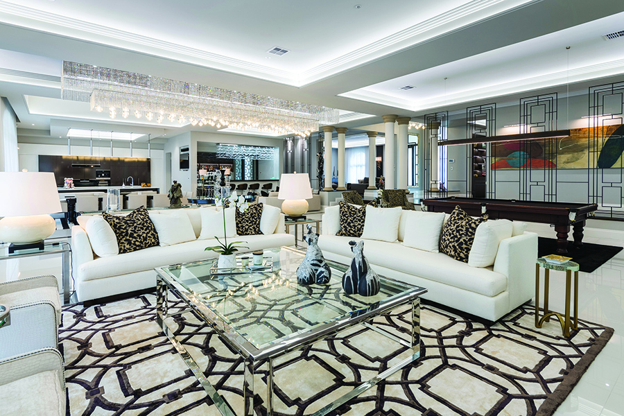 Robertsons luxury Gold Coast home lounge setting