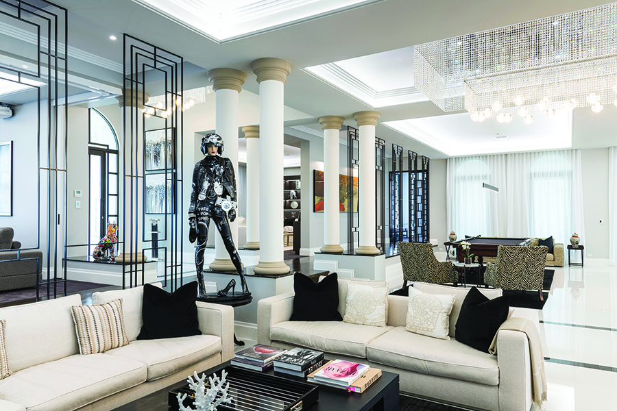 Robertsons luxury Gold Coast home lounge