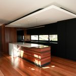 Style and function is at the forefront of this modern kitchen design