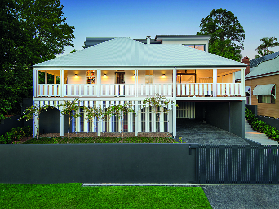 LAK Constructions renovation Queensland Homes front facade