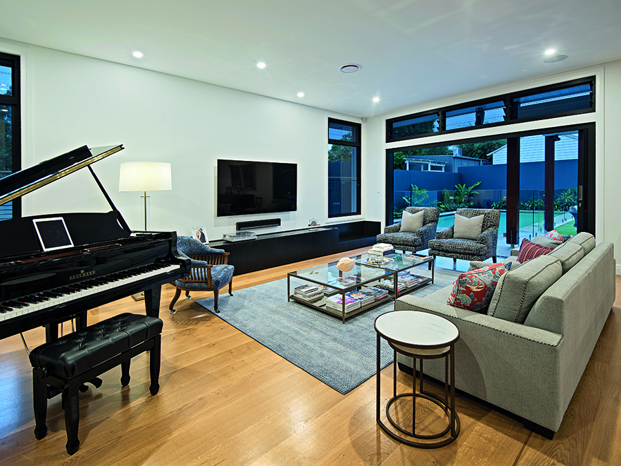 LAK Constructions renovation Queensland Homes lounge