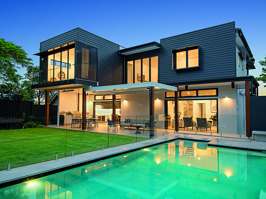 LAK Constructions renovation Queensland Homes back facade