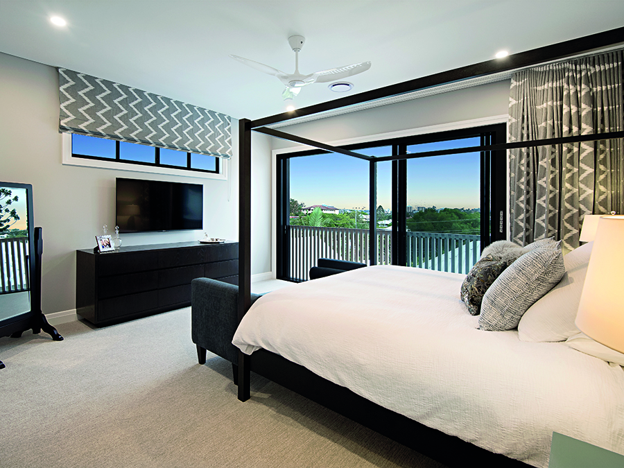 LAK Constructions renovation Queensland Homes bedroom