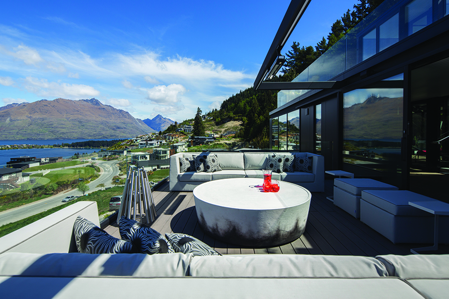 Di Henshall Design NZ home outdoor terrace
