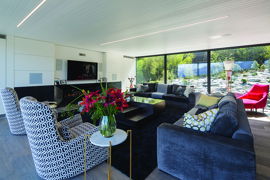 Di Henshall Design NZ home loungeroom