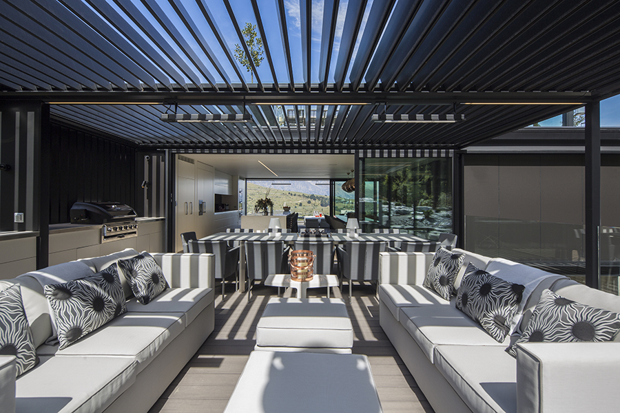 Di Henshall Design NZ home terrace