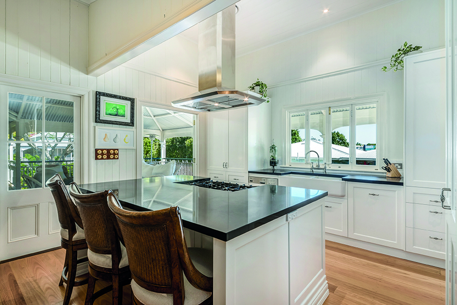 Style Kitchen by Design Queensland Homes kitchen overview