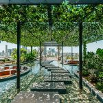 The trend for apartment living with green spaces