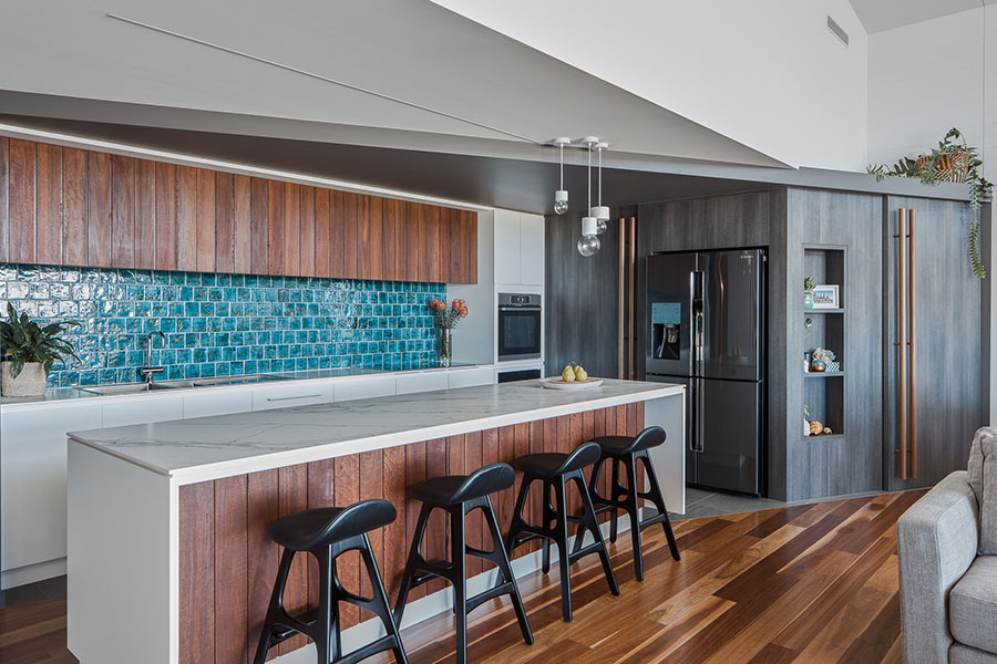 Lindon Homes Cabbage Tree renovation kitchen cabinetry