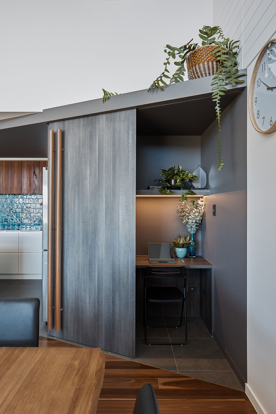 Lindon Homes Cabbage Tree renovation office nook
