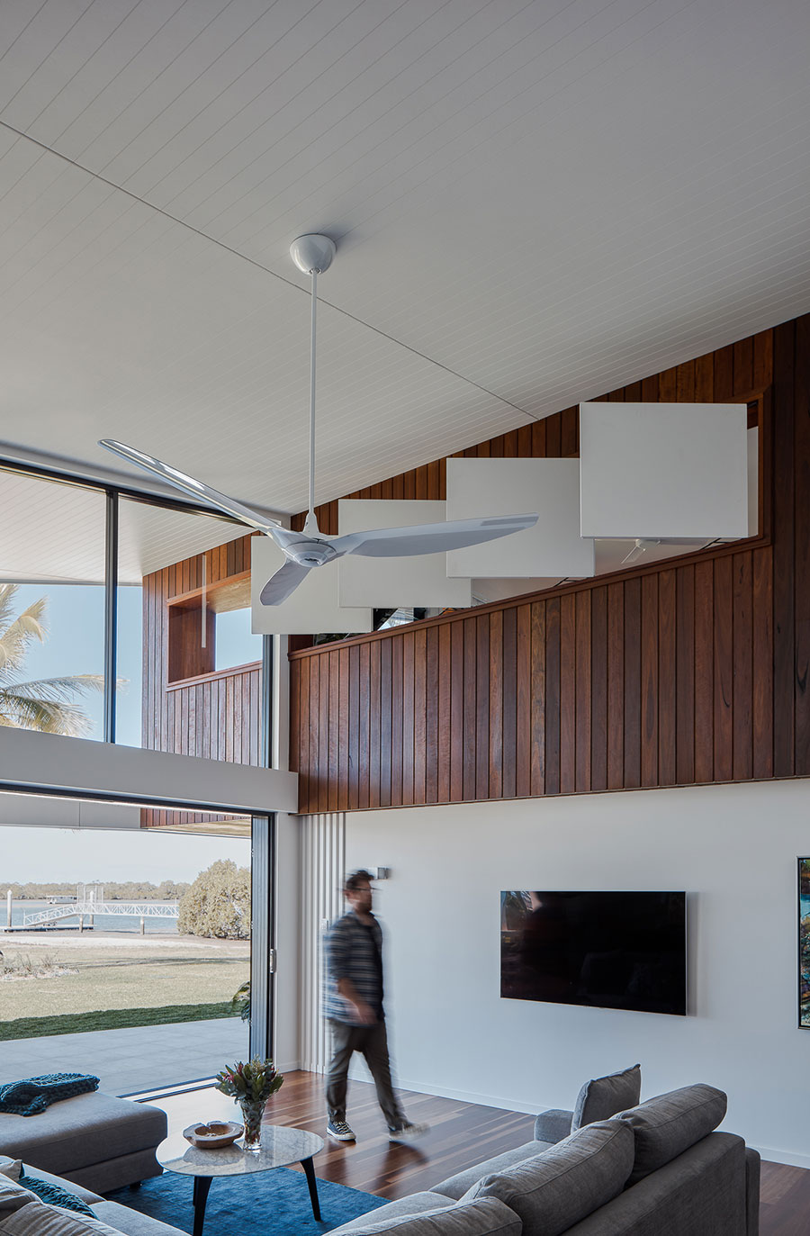 Lindon Homes Cabbage Tree renovation ceiling