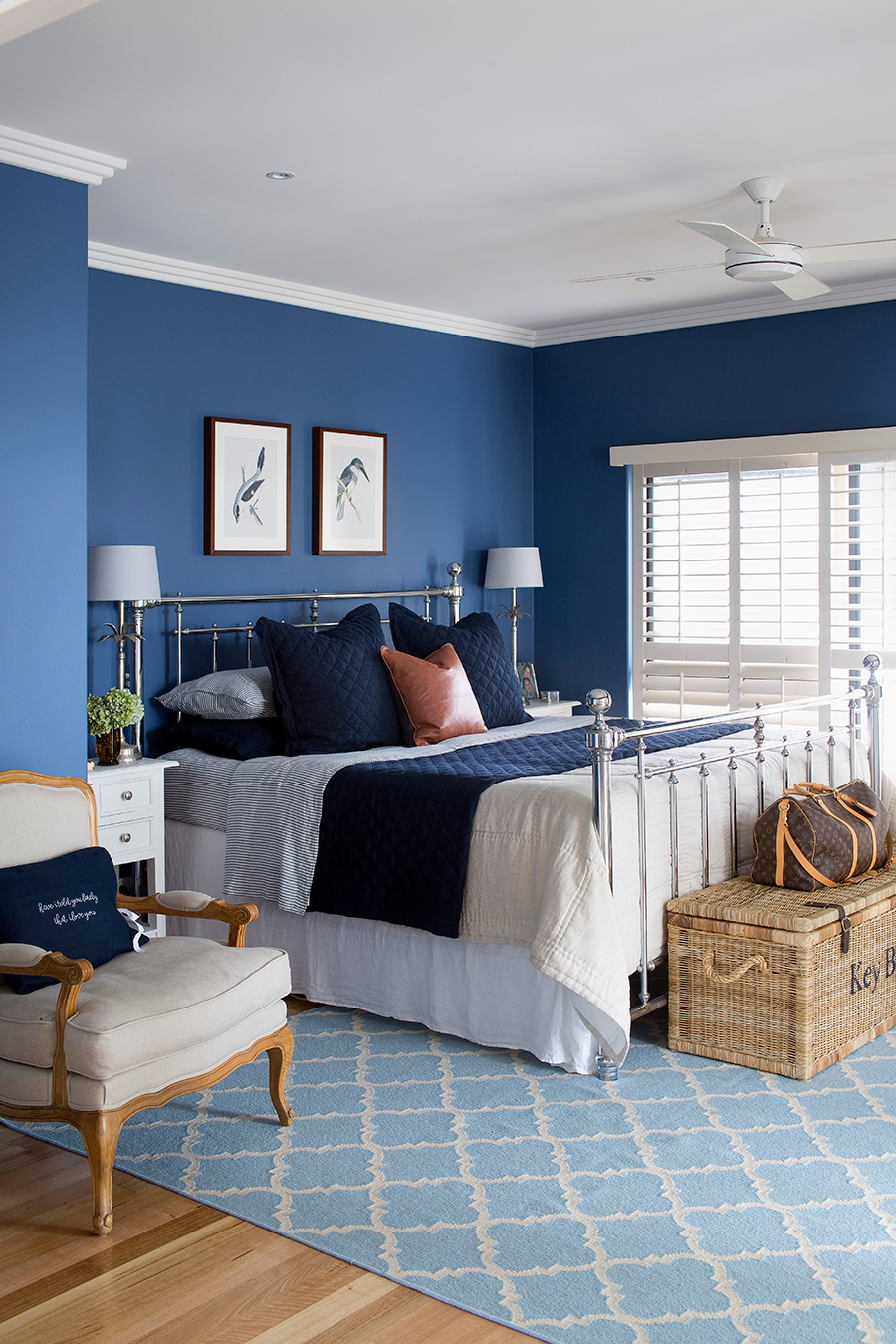 @mumlittleloves coastal home bedroom