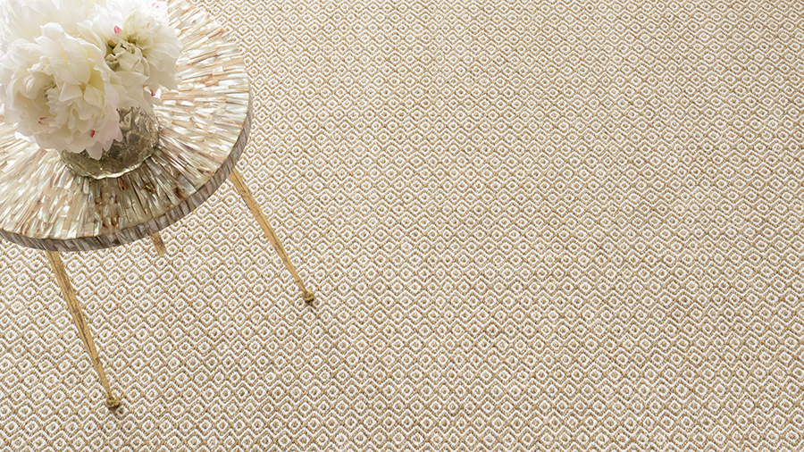 Facet Wheat rug by Dash and Albert