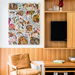 A modern take on Mid-Century style for a renovated Queenslander home