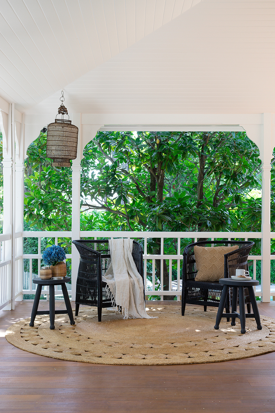Queenslander verandah styling