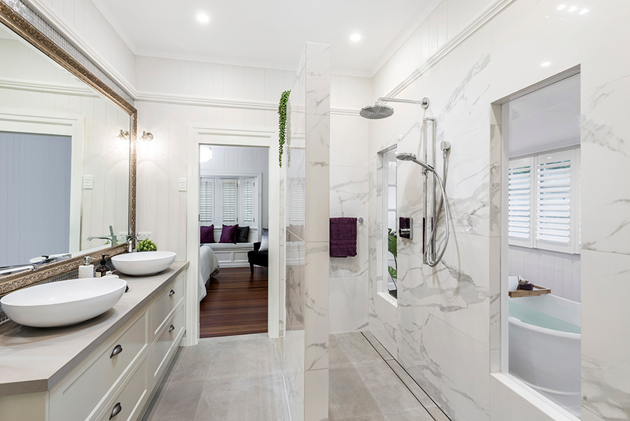 Bathroom renovation Sublime Architectural Interiors