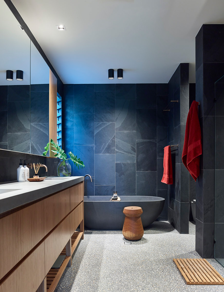 AFTER family home bathroom renovation by Graya Construction