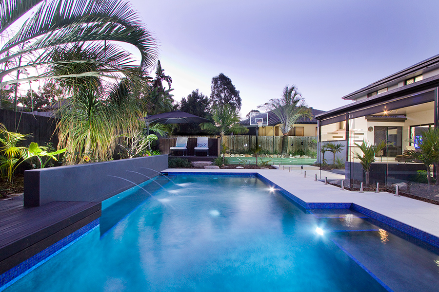 Argo Architects modern poolscape
