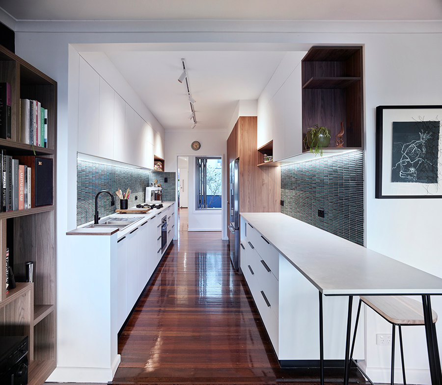 Estelle Elliott kitchen renovation