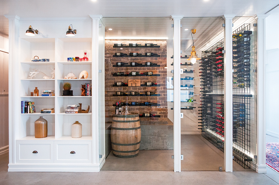 Home cellar Style Kitchens by Design