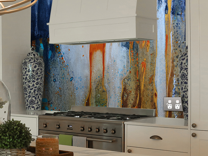 Tailored Artworks kitchen splashback