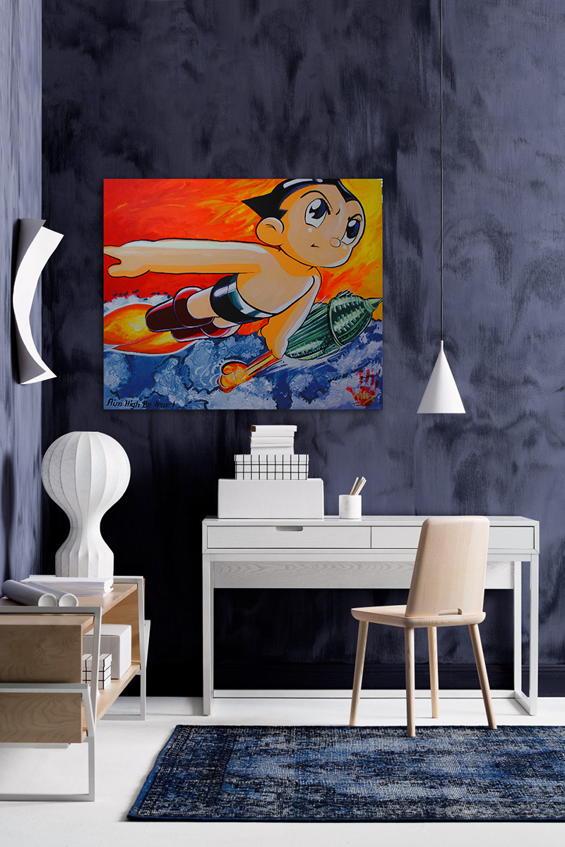 Tailored Artworks kids bedroom art
