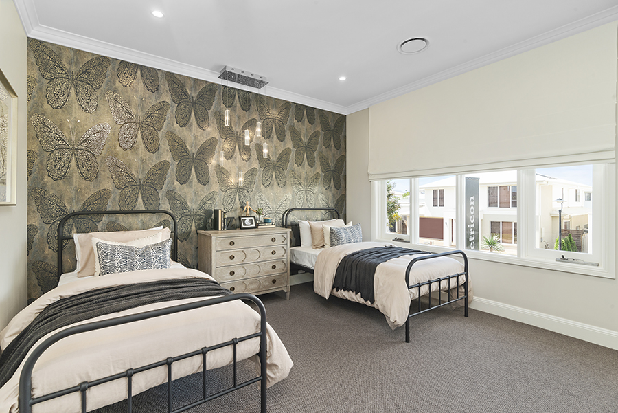 Metricon Bayville Hamptons style home kids bedroom
