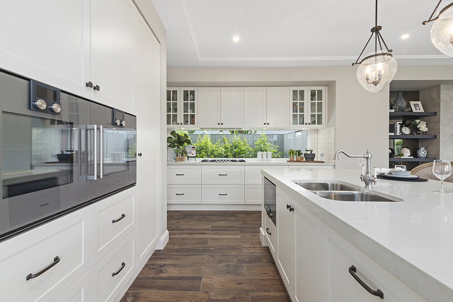 Metricon Bayville Hamptons style home kitchen