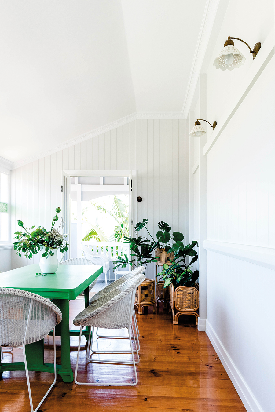 Connors and Co Queenslander home dining room