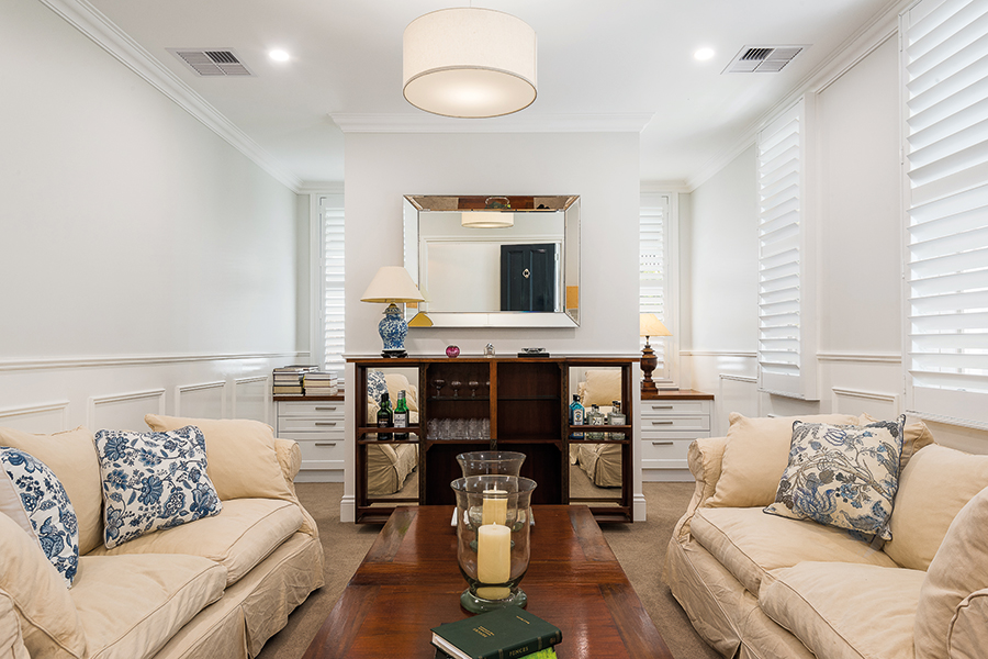 TM Residential renovated farmhouse lounge room