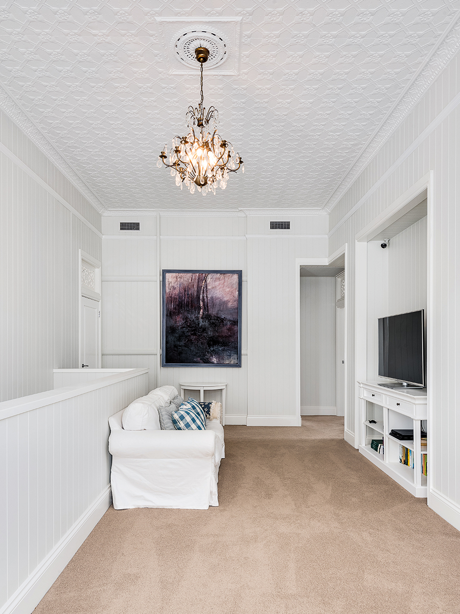 TM Residential renovated farmhouse pressed ceilings