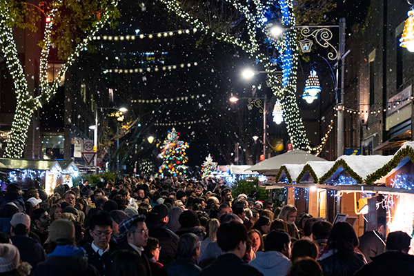 Christmas-Village-at-The-Rocks-Sydney-for-Bastille-Day