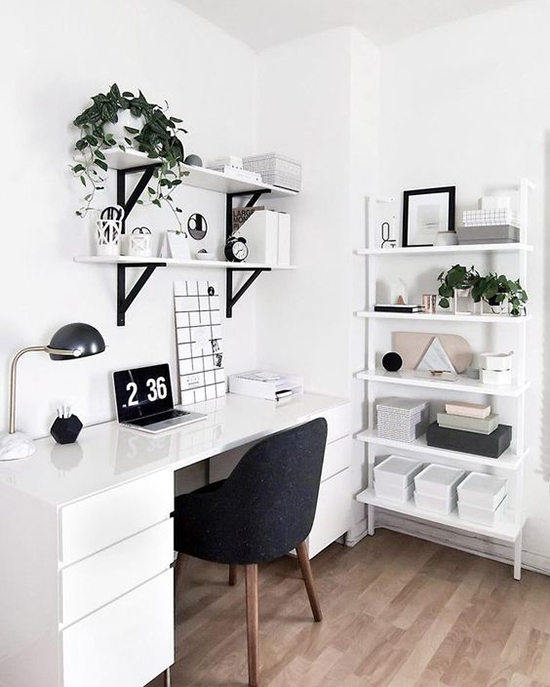 Monochrome at home image Amy from Homey Oh My