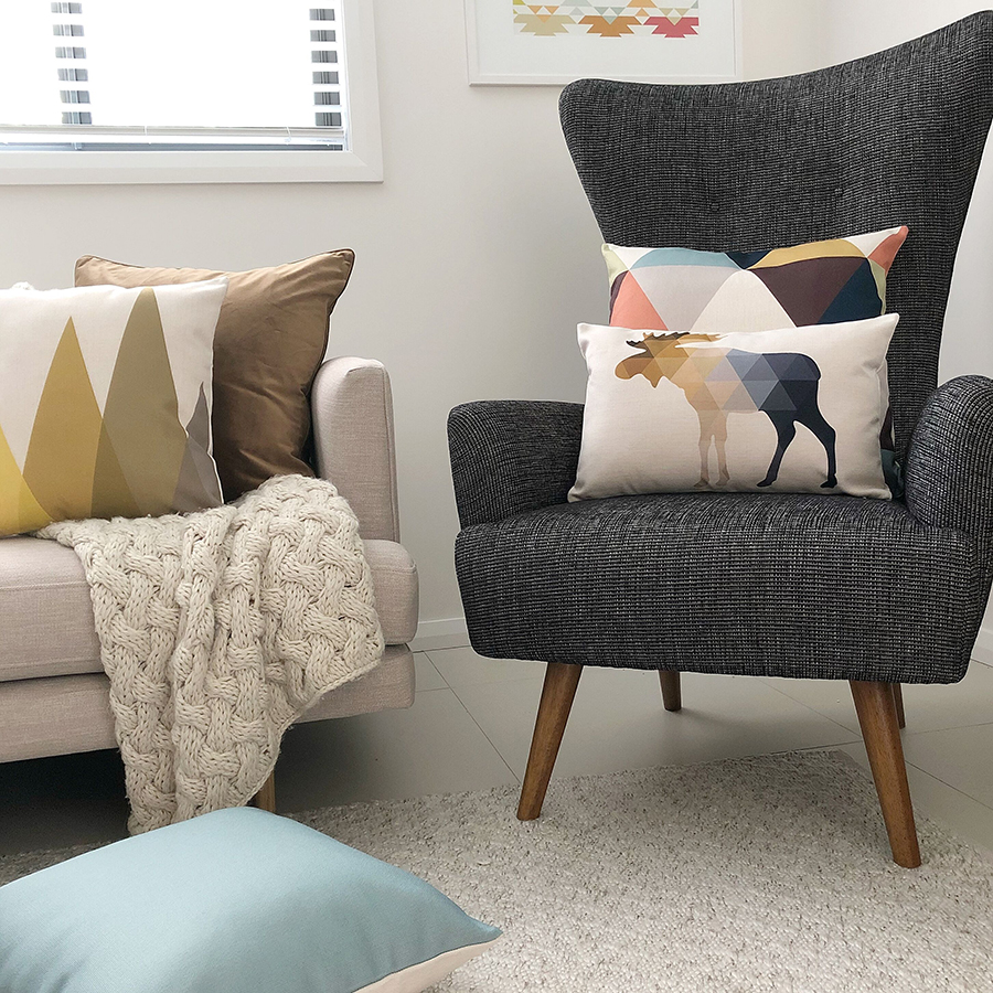 Simply Cushions stylish affordable decorating