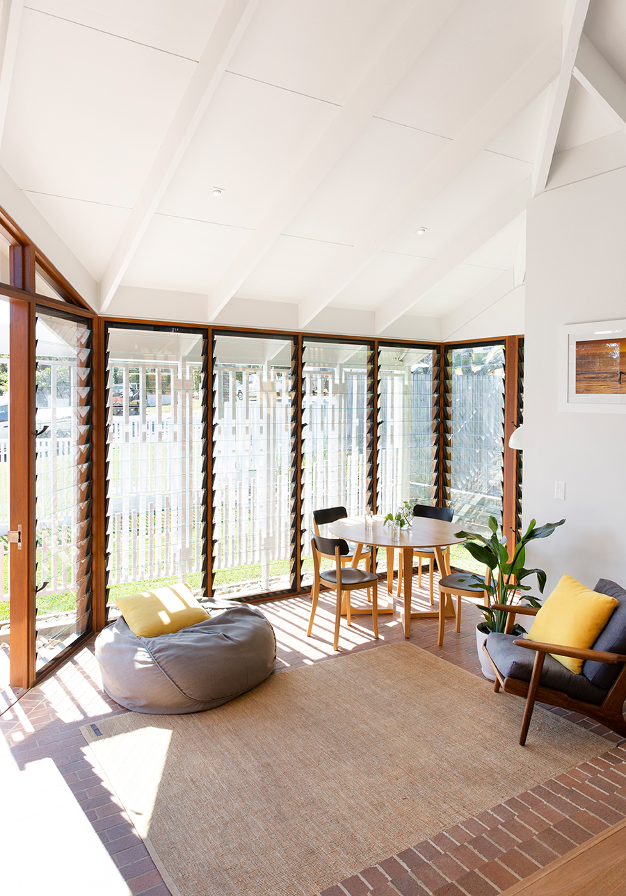 Bacchus House by Smith Architects sunroom