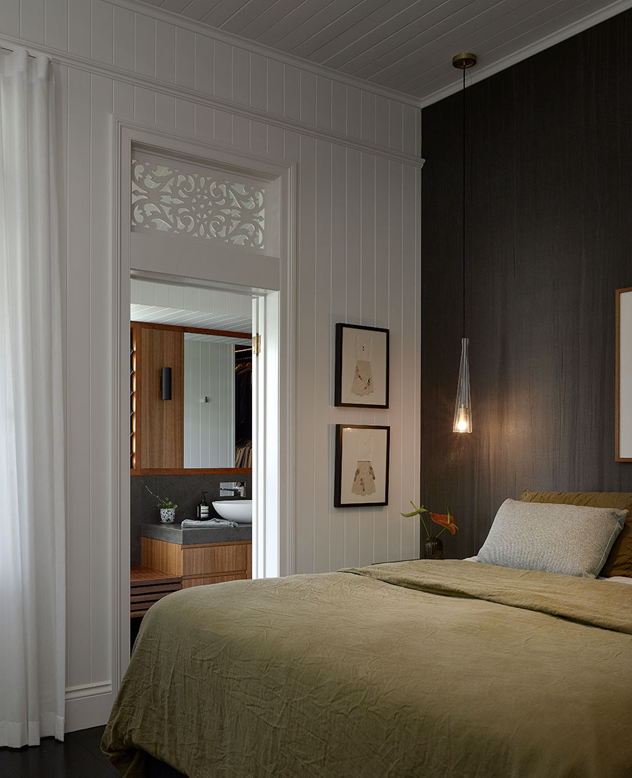 Shaun Lockyer Architects Queenslander renovation bedroom