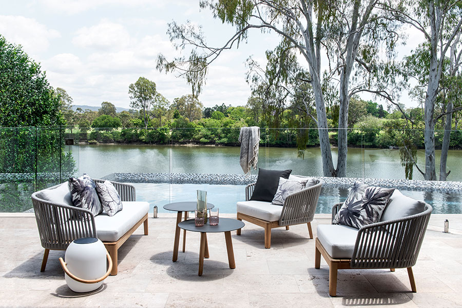Darren James Interiors Tennyson outdoor lounge
