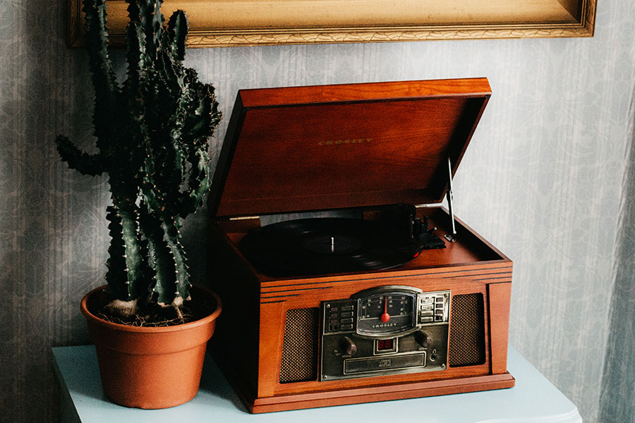 Rockit vinyl record players