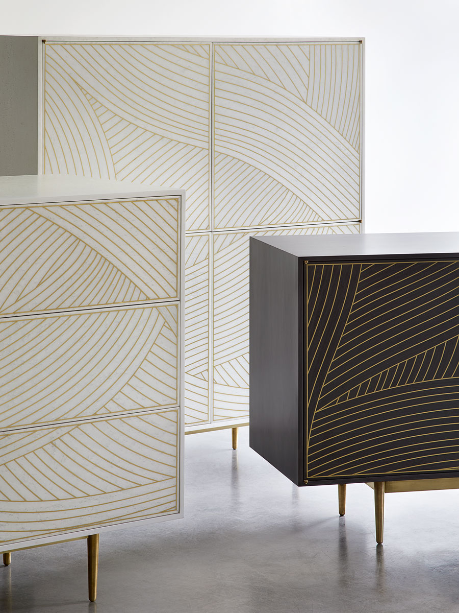 bethan Gray Dhow cabinets Living Edge