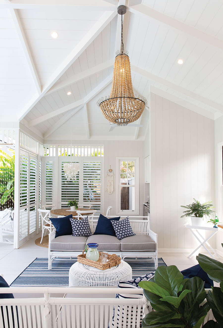 Smith Architects pool house Queenslander