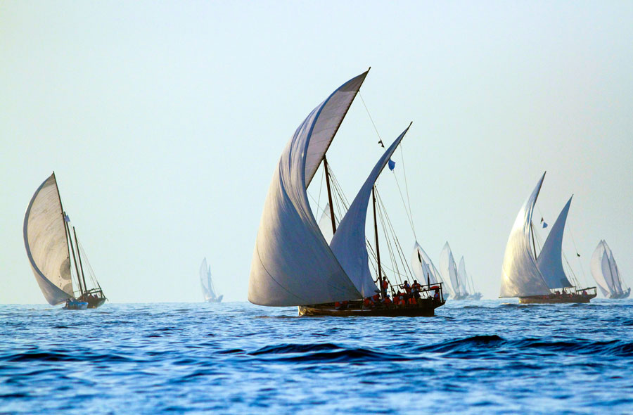 Bethan Gray Dhow boats